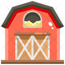 Barn House Farmhouse Icon
