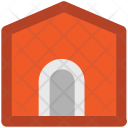 Barn House Building Icon