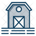 Farmhouse Barn Farmstead Icon