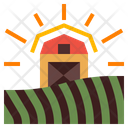Barn House Icon