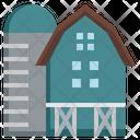 Barn House Farm House Barn Icon