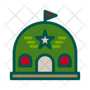 Barracks Military Barrack Military Camp Icon