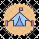 Barracks Military Camp Tent Icon