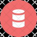 Barrel Concrete Drum Icon