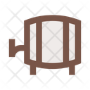 Barrel Keg Beer Icon