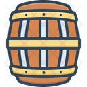 Barrel Badge Container Icon