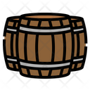 Barrel Farm Wooden Icon