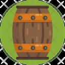 Barrel Drum Storage Icon