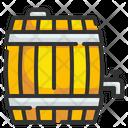 Barrel Tank Keg Icon