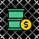 Barrel Money Icon