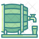 Barrel Tap Beer Barrel Alcohol Icon