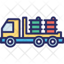 Barrels Delivery Icon