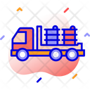 Barrels Delivery Cargo Logistic Delivery Icon