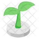 Barren Land Sand Dunes Wasteland Icon