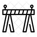 Barricade Barrier Safety Icon