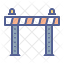 Barrier Safety Security Icon