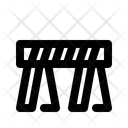 Barricade Barrier Fence Icon
