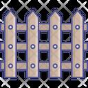 Barricade Fence Palisade Icon
