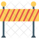 Barricade Blockade Construction Barrier Icon
