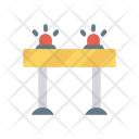 Barrier Fire Alarm Icon