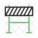 Barrier Barricade Icon
