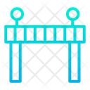 Barricade Construction Working Process Icon