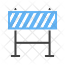 Barrier Barricade Work Icon