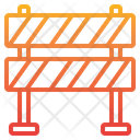 Rarrier Construction Barrier Block Icon