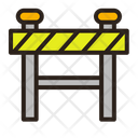 Barrier Resticted Under Construction Icon