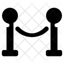 Barrier Fence Barrier Rope Icon