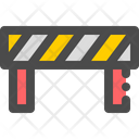 Barrier Road Block Icon