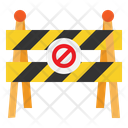 Barrier Block Construction Icon