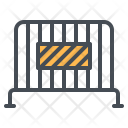 Barrier Bunker Block Icon