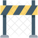 Traffic Barrier Road Barrier Construction Barrier Icon