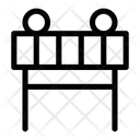 Barrier Construction Fence Icon