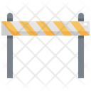 Barrier Construction Worker Icon