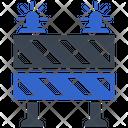 Alert Barrier Restricted Icon