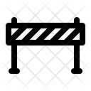 Barrier Fence Construction Icon