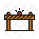 Barrier Construction Construction Barrier Icon