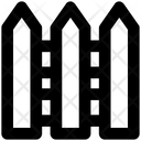 Barrier Fence Garden Icon