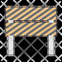 Barrier Block Hurdles Icon