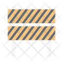 Block Stop Barrier Icon