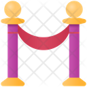 Barrier Fence Boundary Icon