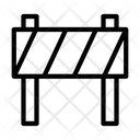 Barrier Block Emergency Icon