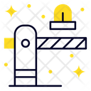 Barrier Gate Security Icon