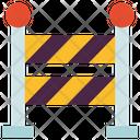 Barrier Border Construction Icon