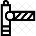 Barrier Gate Road Barrier Icon