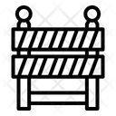 Barrier Road Barrier Barricade Icon