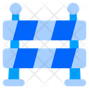 Barrier Caution Obstacle Icon