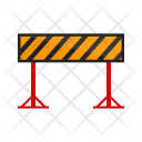 Barrier Warning Work Icon